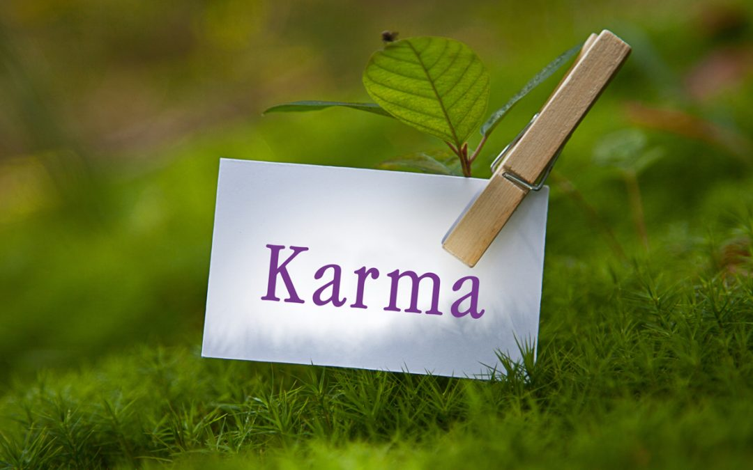 How do we accumulate Karma?