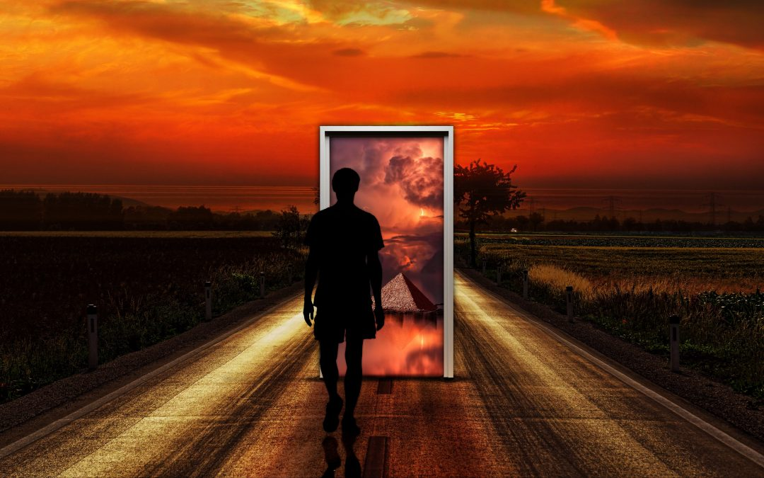 The door that leads you 'IN' also leads you 'OUT'!